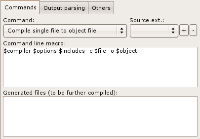 Advanced compiler options